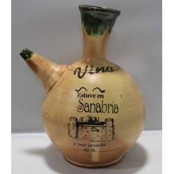 Pipo de Vino en cerámica