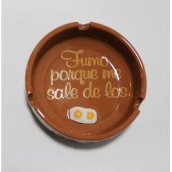 Cenicero huevos pequeño de...