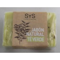 Jabón natural de Té verde